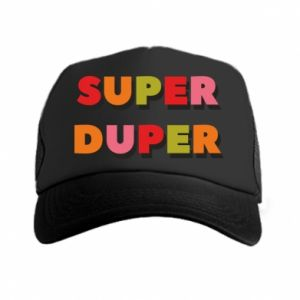 Trucker hat Super duper