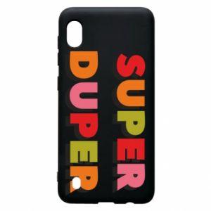 Samsung A10 Case Super duper