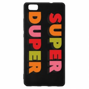 Huawei P8 Lite Case Super duper