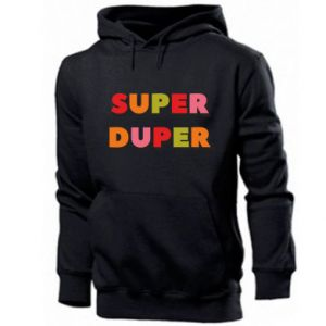 Men's hoodie Super duper