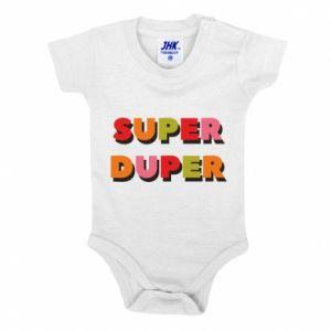 Baby bodysuit Super duper