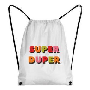 Backpack-bag Super duper