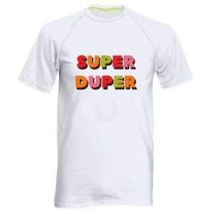 Men's sports t-shirt Super duper