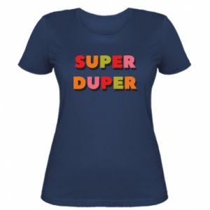 Women's t-shirt Super duper