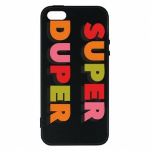 Etui na iPhone 5/5S/SE Super duper