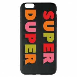 iPhone 6 Plus/6S Plus Case Super duper