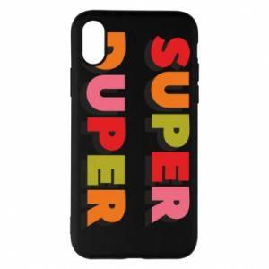 iPhone X/Xs Case Super duper