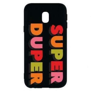 Samsung J3 2017 Case Super duper