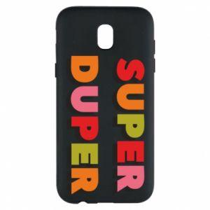 Samsung J5 2017 Case Super duper