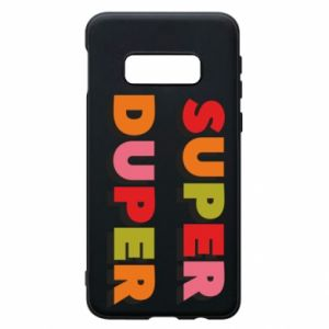 Samsung S10e Case Super duper