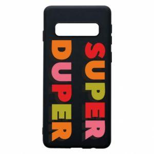 Samsung S10 Case Super duper