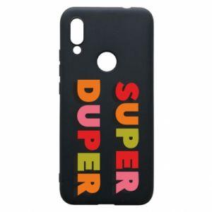 Xiaomi Redmi 7 Case Super duper