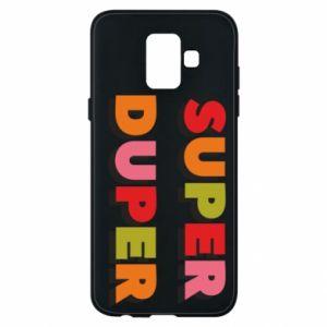 Samsung A6 2018 Case Super duper