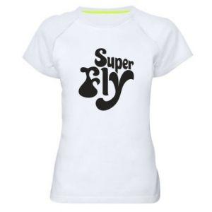 Koszulka sportowa damska Super fly