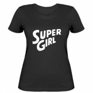 Women's t-shirt Super girl