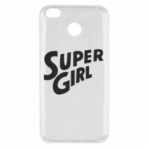 Etui na Xiaomi Redmi 4X Super girl