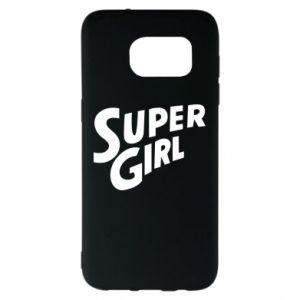 Etui na Samsung S7 EDGE Super girl