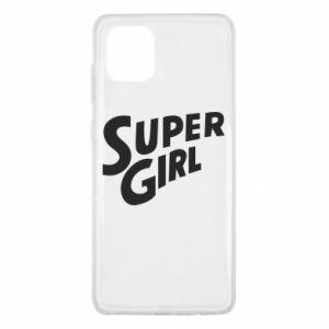 Etui na Samsung Note 10 Lite Super girl