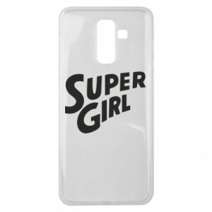 Etui na Samsung J8 2018 Super girl