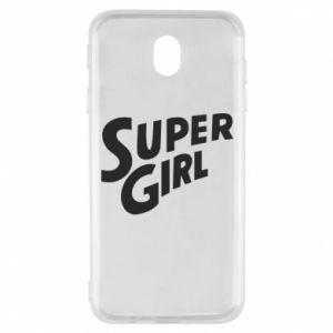 Etui na Samsung J7 2017 Super girl
