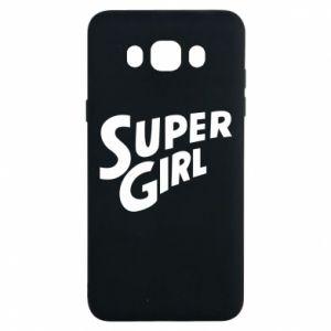 Etui na Samsung J7 2016 Super girl