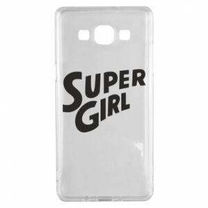 Etui na Samsung A5 2015 Super girl