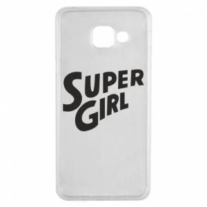 Etui na Samsung A3 2016 Super girl