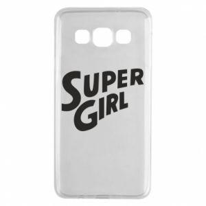Etui na Samsung A3 2015 Super girl