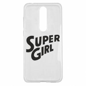 Etui na Nokia 5.1 Plus Super girl