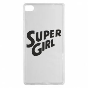Etui na Huawei P8 Super girl