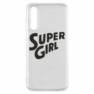 Etui na Huawei P20 Pro Super girl