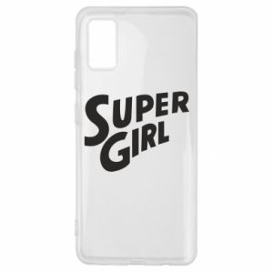 Etui na Samsung A41 Super girl