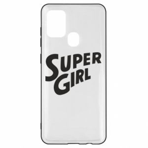 Etui na Samsung A21s Super girl