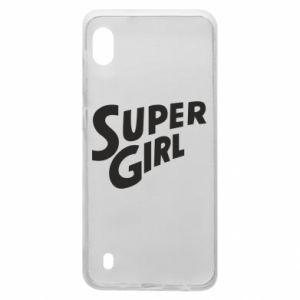 Etui na Samsung A10 Super girl