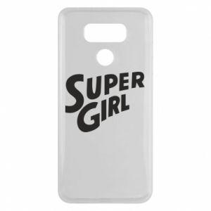 Etui na LG G6 Super girl