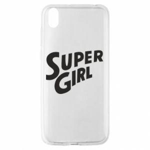 Etui na Huawei Y5 2019 Super girl