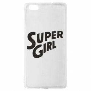 Etui na Huawei P 8 Lite Super girl