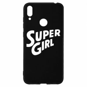 Etui na Huawei Y7 2019 Super girl