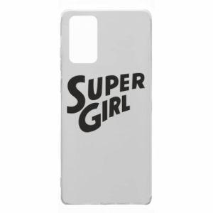 Etui na Samsung Note 20 Super girl