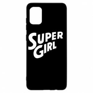 Etui na Samsung A31 Super girl
