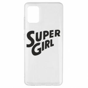 Etui na Samsung A51 Super girl