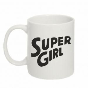 Kubek 330ml Super girl