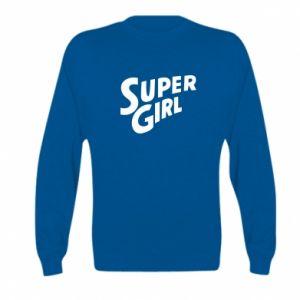 Bluza dziecięca Super girl