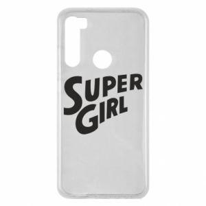 Etui na Xiaomi Redmi Note 8 Super girl