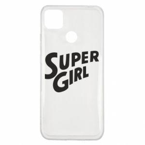 Etui na Xiaomi Redmi 9c Super girl