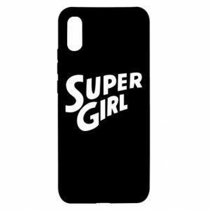 Etui na Xiaomi Redmi 9a Super girl