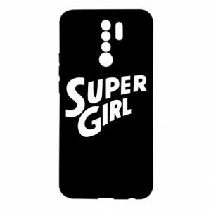 Etui na Xiaomi Redmi 9 Super girl