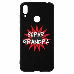 Etui na Huawei Y7 2019 Super grandpa