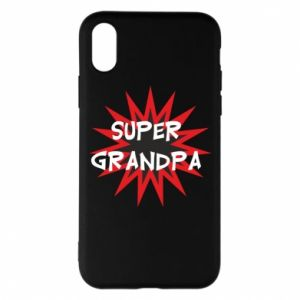 Etui na iPhone X/Xs Super grandpa