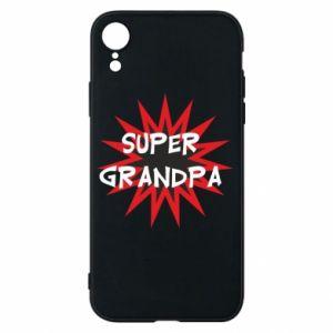 Etui na iPhone XR Super grandpa